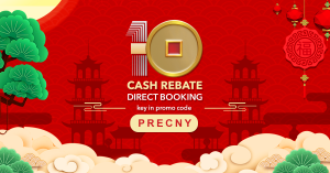 Once again BOOK DIRECT with us to enjoy Pre-Chinese New Year CASH REBATE promotion.