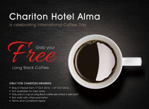 Chariton Hotel Alma calling all coffee lovers !