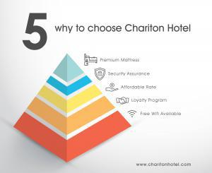 5 Why to Stay With Chariton Hotel !